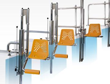Large gamme d'ascenseurs de piscine