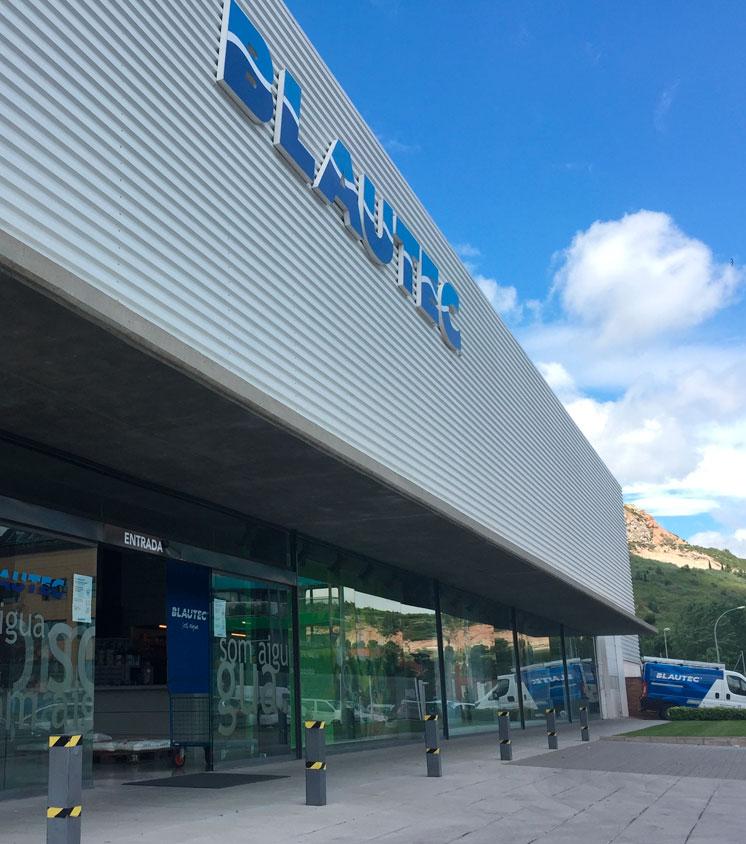 Blautec central building in Igualada (Spain)